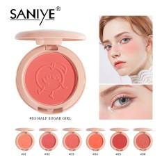 Bảng phấn má hồng SANIYE tông màu hồng có thành phần khoáng chất tự nhiên dành cho trang điểm E0150 – INTL