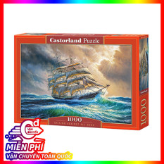 Xếp hình puzzle Sailing Against All Odds 1000 mảnh castorland
