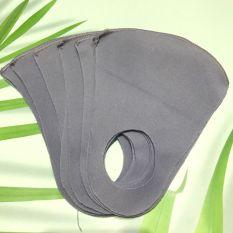 Túi 10 Cái Khẩu Trang Vải Thời Trang 3d Vải Tốt Chống Bụi Chống Nắng Tái Sử Dụng Nhiều Lần Màu Ngẫu Nhiên Ktn01 (Màu Ngẫu Nhiên)