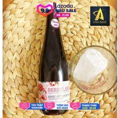 Nước cốt hoa Atiso đỏ BerryLand – Dung tích 500ml – Nước giải khát vị chua ngọt tự nhiên – Đặc sản Đà Lạt Quà tặng ý nghĩa – Món ăn vặt lý tưởng