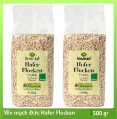 Yến mạch Đức Hafer Flocken cán mỏng túi 500g cho bé ăn dặm, giảm cân, người bị tiểu đường SuSuTo Shop