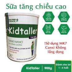 Sữa KidTaller bổ sung MK-7 tăng chiều cao cho trẻ 1-6 tuổi hộp 900gr