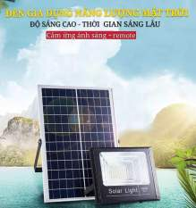 Đèn LED năng lượng mặt trời 30w60W100W200W-Bảo hành 2 năm-IP67