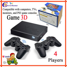 Máy chơi game điện tử 4 nút không dây trên tivi, game stick 4k, kết nối hdmi hỗ trợ trò chơi 3D, tay cầm chơi game siêu nhạy