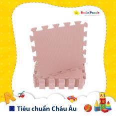 Thảm xốp cho bé – đơn màu Pastel (10 miếng, tổng kích thước 10 miếng 0.6mx1.5m) Smile Puzzle – KHÔNG MÙI CHUẨN CHÂU ÂU