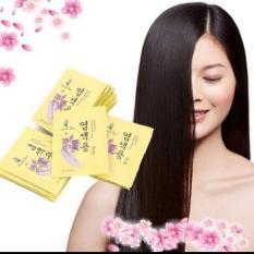 Set 10 Gói Dầu Gội Đen Tóc Nhân Sâm Beauty Star Hàn Quốc