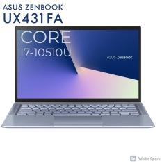 Laptop Asus Zenbook UX431 Core i7-10510U, 16gb Ram, 512gb SSD, VGA rời MX250, 14″ Full HD, vỏ nhôm siêu bền