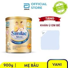 [Giảm 50k đơn 599k] Lon sữa bột Similac mom 900g Tặng Khăn ủ em bé – Giới hạn 10 sản phẩm/khách hàng