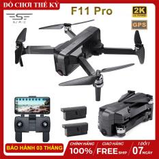 [ COMBO 2 PIN ] Flycam SJRC F11 PRO bản nâng cấp của SJRC F11 – Camera 2K – Bay 25 Phút – 2 GPS – Khoảng cách điều khiển 1.2KM – Động cơ không chổi than