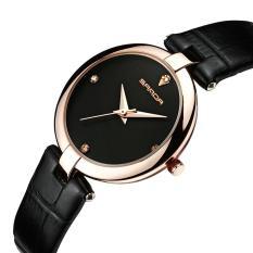 Đồng hồ nữ SANDA P196 Máy Nhật Bản – Dây da mềm cao cấp