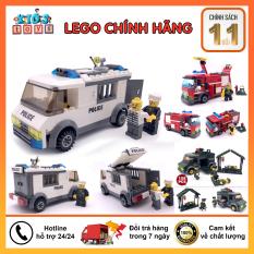 Lego đồ chơi, Lego cảnh sát bắt tội phạm, đồ chơi xếp hình cho bé.