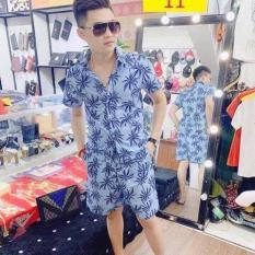 [Xả hàng cuối hè] Đậm Chất Hawaii Với Áo Cây Dừa Đi Biển, Bộ quần áo đi biển, Đồng Phục Kỉ Yếu Siêu Nổi Bật 2020