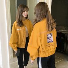áo khoác kaki nữ siêu đẹp đơn giản cực duyên dáng cho chị em việt hot 2019 KG785