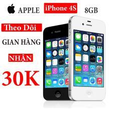 Điện thoại Apple iPhone 4s – 8GB – Bản quốc tế – Full phụ kiện – Bảo hành 3 tháng – Đổi trả miễn phí tại nhà – Yên tâm mua sắm với Mr Cầu (Điện thoại giá rẻ, điện thoại smartphone)
