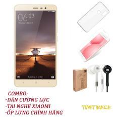 Điện Thoại Xiaomi Redmi Note 3 Ram 3gb Rom 32Gb – Tặng kèm Kính cương lực, Ốp lưng, Tai Nghe – Có sẵn Tiếng Việt