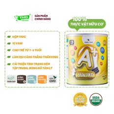 Sữa công thức cho bé trên 1 tuổi Miwako A+ hữu cơ hộp 700G nhập khẩu Malaisia – THD Store