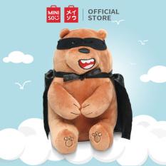 Gấu bông Miniso Bare Bears Halloween Plush-Grizz thú nhồi bông