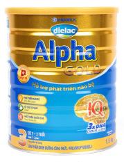 Sữa Bột Dielac Alpha Gold 3 1.5kg – Dành cho bé 1-2 tuổi – HSD luôn mới