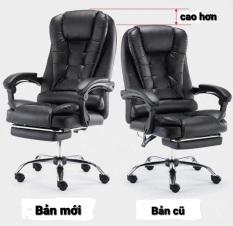Ghế văn phòng kèm massage thư giãn bản mới SIÊU ÊM VÀ ĐẸP