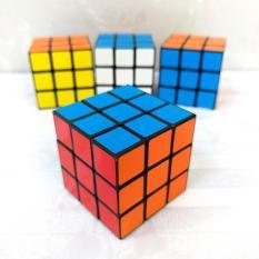 Rubik 3×3 viền đen, đồ chơi phát triển trí tuệ trẻ em