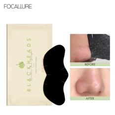 Miếng dán lột mụn FOCALLURE làm sạch sâu hỗ trợ giảm mụn đầu đen cho vùng mũi 2.2g / miếng