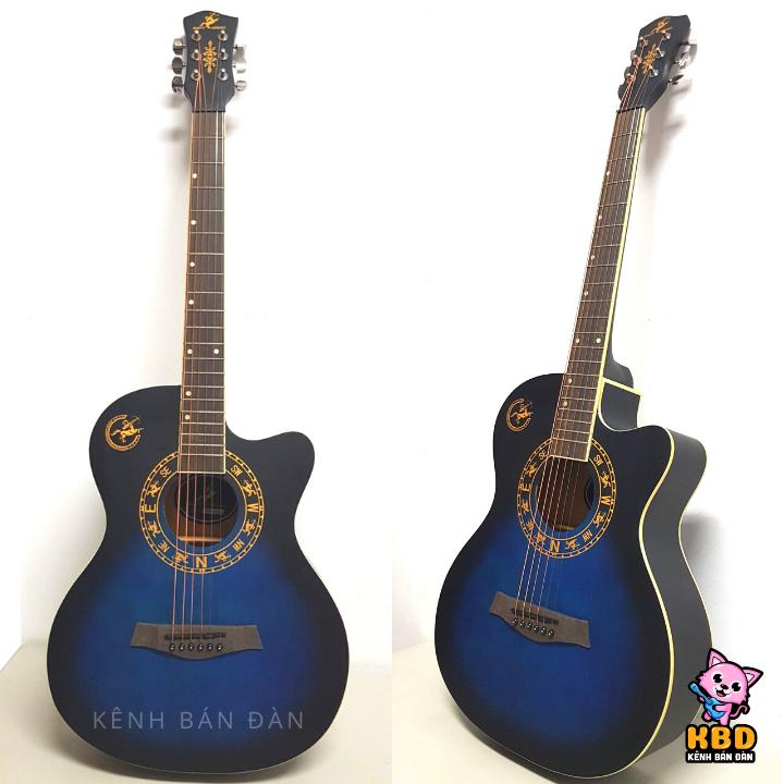 Đàn Guitar Acoustic giá rẻ cho sinh viên người mới tập chơi Swift Horse WG-380C – Tặng kèm phụ kiện
