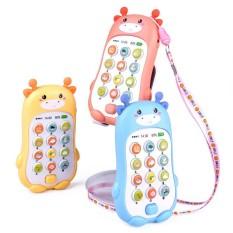 [HCM]Đồ chơi thông minh điện thoại hươu cao cổ phát âm thanh sống động.