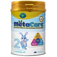 Combo 2 lon sữa bột metacare số 2 900g
