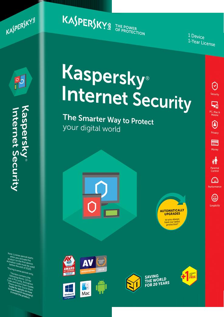 kaspersky internetsecuriy1 thiết bị2020