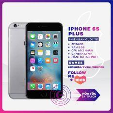 ( Free Vocher 450k 09-14/03)Điện thoại Apple iPhone 6S Plus -32 GB – 64 GB Bản quốc tế, CPU Apple A9 2nhân RAM 2GB màn hình LED-backlit IPS LCD, 5.5 , Retina HD NGUYÊN ZIN tặng FULL PHỤ KIỆN – MR CAU