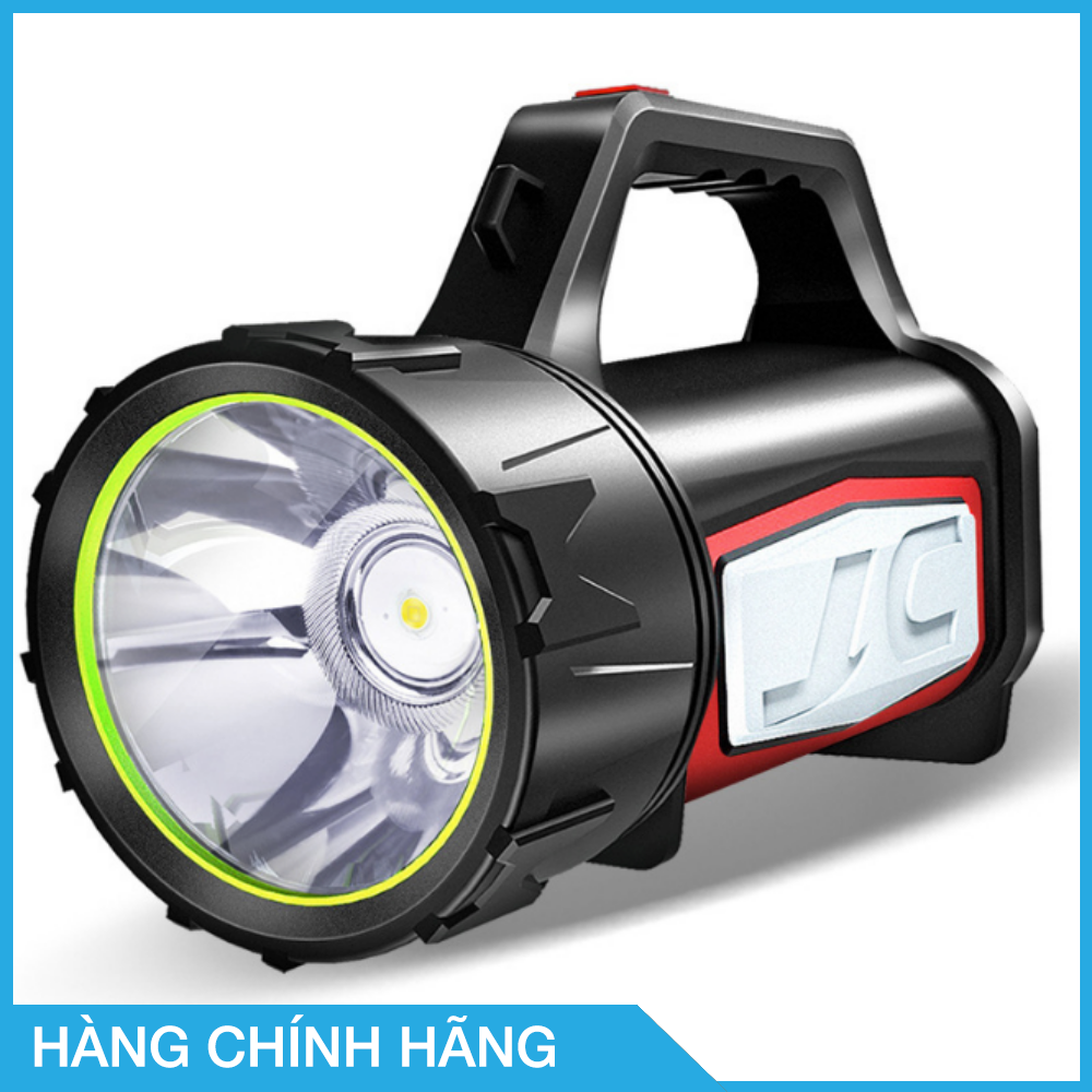 Đèn pin siêu sáng 1500 lumens, tầm chiếu xa 1000m thương hiệu Smiling Shark, hỗ trợ tìm kiếm cứu nạn, làm sạc dự phòng, làm đèn cắm trại, chống nước, hoạt động tốt trong thời tiết mưa bão, thời lượng pin 25h – Hàng chính hãng