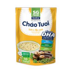 Cháo tươi Baby Sài Gòn Food Lươn & Đậu xanh 240g