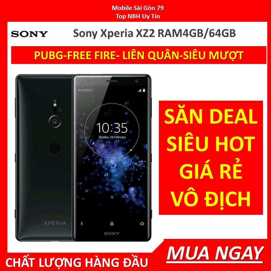 điện thoại Sony XZ2 – Sony Xperia XZ2 64G mới CHÍNH HÃN,Bao đổi miễn phí tại nhà