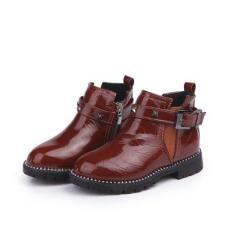 giày Bốt Bé Gái Size 27 da bóng