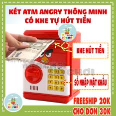 Két sắt mini thông minh cho bé đồ chơi dùng pin có mật mã hoạt hình 9983 – Thị trấn đồ chơi