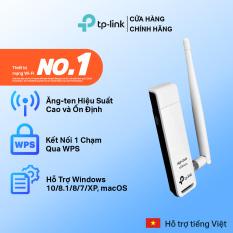Bộ Thu Sóng Wifi USB Wifi TP-Link TL-WN722N Độ Lợi Cao Tốc Độ 150Mbps – Hàng Chính Hãng