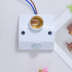 Đui đèn cảm biến chuyển động – tự động bật tắt khi có người và buổi tối