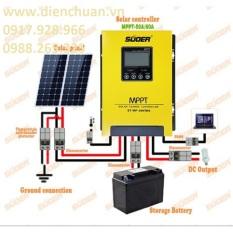 Điều khiển sạc năng lượng mặt trời MPPT 40A Suoer ST-MP40