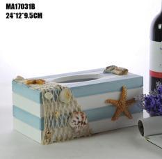 Các mẫu hộp đựng khăn giấy, giấy ăn trang trí theo phong cách Địa Trung Hải
