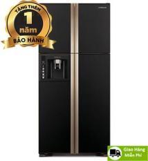 Tủ lạnh Hitachi 540L Inverter R-W690PGV7-GBK , Miễn phí vận chuyển