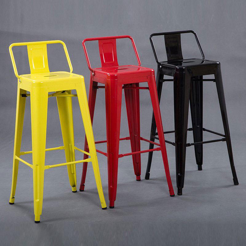 Ghế bar sắt cao - ghế bar tolix
