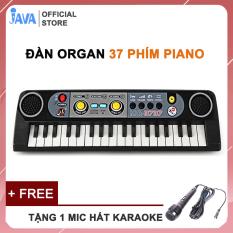 [ TẶNG MIC CÓ DÂY CAO CẤP ] Đàn PIANO cho bé, KÍCH THÍCH TRÍ THÔNG MINH, ORGAN 37 phím Piano – Âm thanh chất lượng