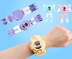 Đồ chơi trẻ em Đồng hồ Robot biến hình [HOT SALE] hàng đẹp, có hộp, tặng kèm Smile tinh quái