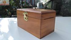 Hộp gỗ đựng tiền tiết kiệm mini có khóa