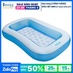 Bể bơi phao INTEX chữ nhật 57403 – Hồ bơi cho bé mini, Bể bơi phao trẻ em