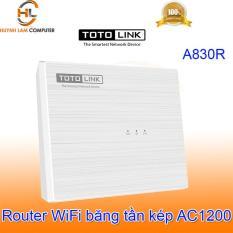 Router WiFi ToTolink A830R băng tần kép AC1200 thiết kế để bàn – DGW phân phối