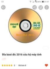 đĩa boot dlc 2016 cứu hộ máy tính