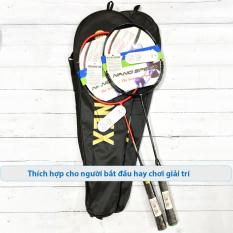 Bộ 2 vợt cầu lông khung nhôm Yonex Y5343 tặng kèm túi đựng