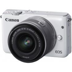 Máy ảnh Canon EOS M10 kit 15-45mm STM ( Hàng chính hãng ) + Thẻ nhớ SD 16GB và túi đeo máy
