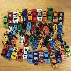 Bộ đồ chơi 50 chiếc ô tô cho bé-Set 50 ô tô màu sắc mini cho bé, Set 50 ô tô sắt cho bé, Bộ 50 ô tô sắt mini cho bé, Bộ đồ chơi 50 chiếc ô tô mô hình (Siêu bền, nhiều màu sắc),